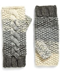 Eugenia Kim - 'carlie' Fingerless Cable Knit Gloves - Lyst