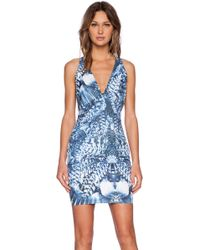 Blessed Are The Meek X Revolve Blue Moon Dress - Lyst