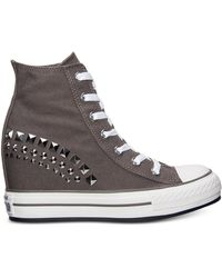Converse Women'S Chuck Taylor All Star Platform Plus Hi Casual Sneakers From Finish Line - Lyst