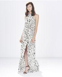 Parker Ashford Combo Dress Ashford Combo Dress animal - Lyst