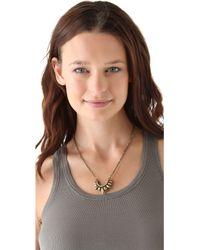 Pamela Love - Small Spike Necklace - Lyst