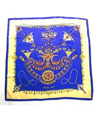 Hermes Pre-Owned Parures Des Sables Silk Scarf - Lyst