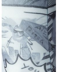 Tsumori Chisato - Comics Print Tights - Lyst