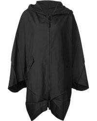 132 5. Issey Miyake - Hooded Cape Jacket - Lyst