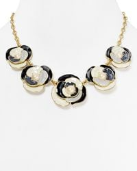 Kate Spade Deco Blossom Graduated Necklace 20 - Lyst