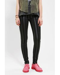 Tripp Nyc - Coated Striped Skinny Jean - Lyst