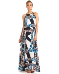Trina Turk Portia Mixed Stripe A-Line Dress - Lyst