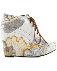 Jeffrey Campbell Mapmaking Your Move Wedge - Lyst