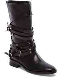 Frēda Salvador Black Ride Boot - Lyst