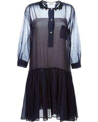 Forte Forte | Dropped Waist Pleated Dress | Lyst