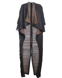 Renli Su - Rothko Textured Silk Coat - Lyst
