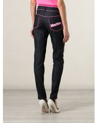 Moschino Slim Fit Jeans - Lyst