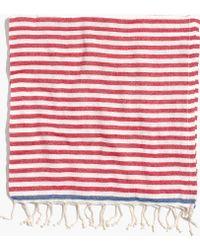Madewell Turkish-T&Reg; Beach Candy Towel red - Lyst