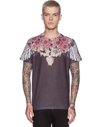 Sons Of Heroes Damaged Goods Baroque Wings Tee gray - Lyst