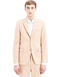 Calvin Klein Collection Mens Slater Jacket beige - Lyst