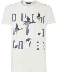Duck And Cover Drake Brand Carrier Tshirt - Lyst