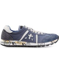 Premiata Blue 'Lucy' Sneakers - Lyst