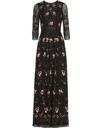 Needle & Thread Willow Sequin-embellished Tulle Maxi Dress - Lyst