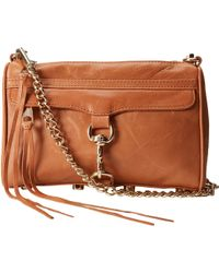 Rebecca Minkoff Mini Mac Convertible Crossbody - Lyst