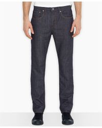 Levi's 513 Ice Cap Slim Straight Fit Jeans - Lyst