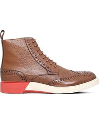 Anthony Miles - Burrel Leather Boots - Lyst