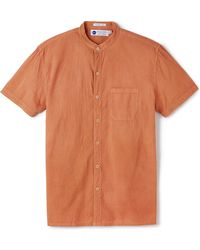Industry of All Nations - Madras Mao Shirt - Lyst