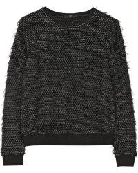 Tibi Texturedknit Sweater - Lyst