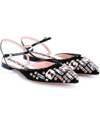 Rochas | Embellished Point-toe Flats | Lyst