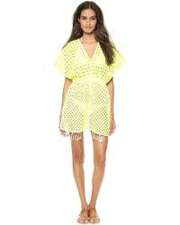 Basta Surf Islita Tunic Neon Yellow - Lyst