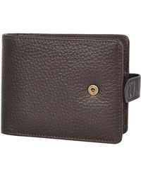 River Island Brown Ri Popper Wallet - Lyst