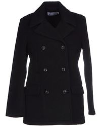 T By Alexander Wang Coat - Lyst