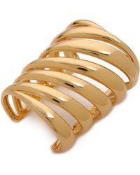 Rachel Zoe - Safari Wide Cutout Cuff Bracelet - Lyst