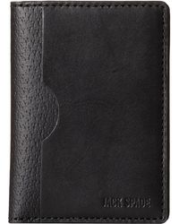 Jack Spade Grant Leather Vertical Flap Wallet - Lyst