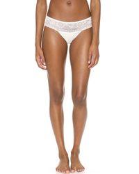 La Perla Studio Rosa Bikini Briefs  Nude - Lyst