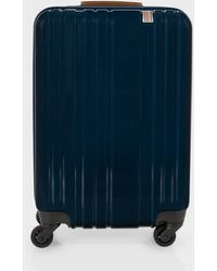 Paul Smith - Small Navy Ridgeback Trolley Suitcase - Lyst