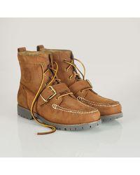 Polo Ralph Lauren Oiled-leather Redmon Boot - Lyst