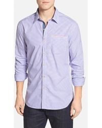 Robert Graham 'Kamehameha' Tailored Fit Sport Shirt - Lyst