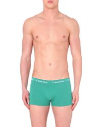 Calvin Klein Three-Pack Coloured Trunks - For Men - Lyst