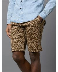 Garbstore Printed Five Jet Chino Shorts - Lyst