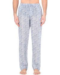 Zimmerli Paisley-Print Cotton Pyjama Bottoms - For Men - Lyst
