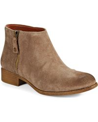 Enzo Angiolini Nevadia Ankle Boots - Lyst