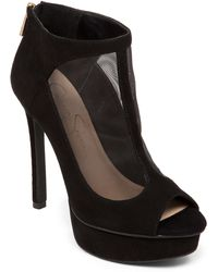 Jessica Simpson Caiazzo Suede Leather Stilettos - Lyst