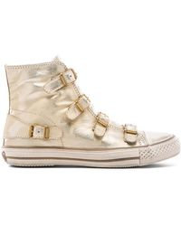 Ash Gold Virgin Sneaker - Lyst