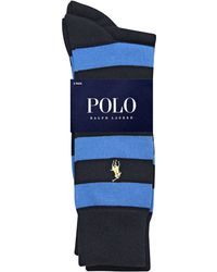Polo Ralph Lauren 2pack Striped Socks - Lyst
