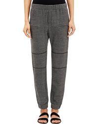 Sea Track Pants gray - Lyst