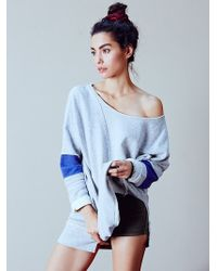 Free People Womens Retro Sport Pullover - Lyst
