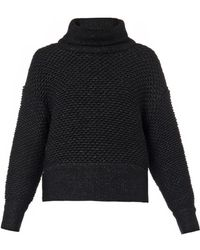 Helmut Lang Opacity Chunky-knit Sweater - Lyst