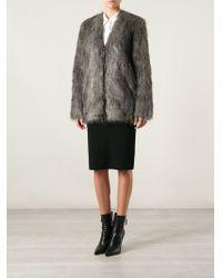 By Malene Birger 'Zannaz' Faux Fur Coat - Lyst