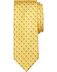 Brooks Brothers Textured Flower Tie - Lyst