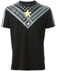 Givenchy Stud Print Tshirt - Lyst